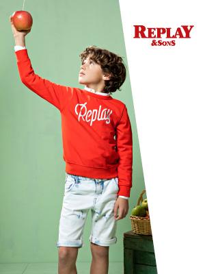 Replay & Sons kidswear ss20
